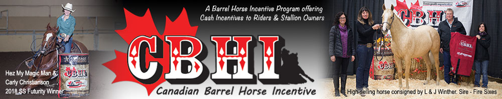 Canadian Barrel Horse Incentive